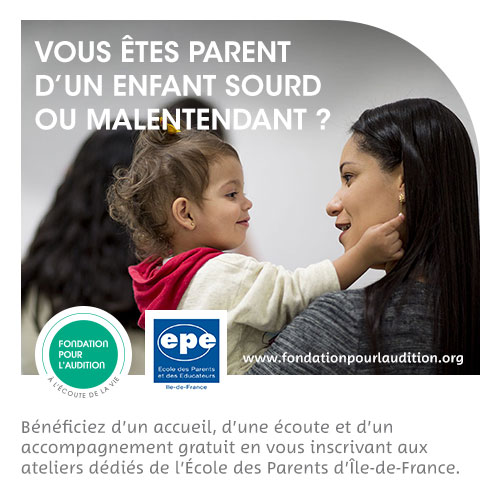 Flyer - Ecole des Parents d'enfants sourds ou malentendants